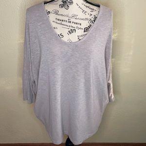 Laila Jayde Tan 3/4 Sleeve Shirt